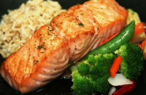 Seared Salmon with Jasmin Rice_1